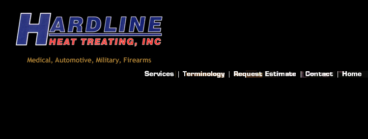 Hardline Heat Treating Logo and Graphics